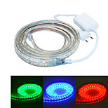 jiawen 300CM Waterproof  18W  180-5050SMD 8-Mode  RGB LED Flexible Light Strip (AC110~220V)