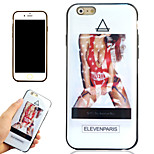 Tide Brand Sexy Girl Pattern TPU Soft Phone Case for iPhone 6/6S