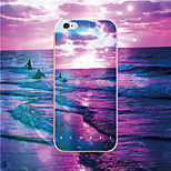 MAYCARI®Traveling at Coconut Island Soft Transparent TPU Back Case for iPhone 6/iphone 6S(Assorted Colors)