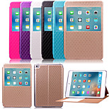 KARZEA™Diamond Pattern TPU and PU Leather Case with Stand for iPad Mini4(Assorted Color)