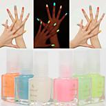 1pcs 7ml Luminous Nail Polish Fluorescent Light Glow in Dark Nail Varnish