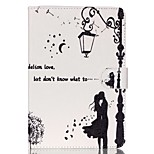 Dandelion lovers  Pattern PU Leather Full Body Case with Stand for iPad Mini 3/2/1