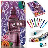 mobiele telefoon holster stofdicht plug mobiele telefoon touch screen pen kleur willekeurige voor s5 / s6 / s6 edge / s6 rand plus