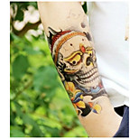 Cool Skulls Tattoo Stickers Christmas / New Year Flower Series Paper 1pcs 22*16*0.1cm