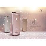 dazle funkelnde galvanisieren tpu zurück Fall für iPhone 6s puls