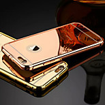 The New Luxury Stainless Steel Buckle Metal Frame Backplane Phone Case for iPhone 6/6S (Assorted Colors)