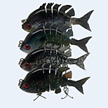 4pcs/lot New 3.2 Inches 14 Grams Slow Sinking Bluegill Swimbait Crankbait  Fishing Lure