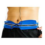 Belt Pouch/Belt Bag Waist Bag/Waistpack for Camping & Hiking Fishing Cycling/Bike Running Sports Bag Waterproof Zipper WearableRunning