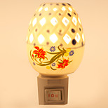 Creative Design Ceramic Lamp Night Light Bedside Lamp Fragrance Festival Gift