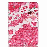 princess Pattern PU Leather Full Body Case with Stand for iPad Mini 3/2/1