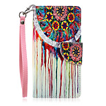 New Lanyard Bright Pattern PU Leather Material Phone Case for Huawei P8 Lite