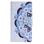 Blue and White Porcelain Painted PU Phone Case for Huawei P8 Lite/P8