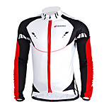 NUCKILY Mountain Bike Team In Autumn And Winter Long-Sleeved Sersey Sindproof Fleece Warm Coat Male Sportswear