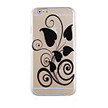 Beautifully Dressed Pattern Transparent Phone Case Back Cover Case for iPhone6 Plus/6S Plus