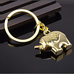 Elephant Keychain Couple Keychain Creative Gifts Birthday Gift Girlfriend Golden Elephant Keychain