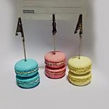 Place Cards and Holders Simulation Macarons Resin Business Card Holder