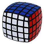 QJ 5 Layers Magic Cube Bread Type Cube (Black Edge)