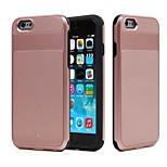 The New Armor Ares Fangshuai Enclosed Metal Triple TPU Material PP  cell Phone case for iPhone 6 / 6S (Assorted Colors)