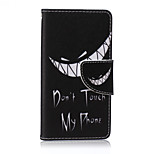 Tooth Painted PU Phone Case for Sony Xperia Z5 Compact