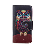 Owl Pattern Card Stand Leather Case for iPhone 6/6S