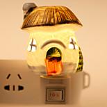 luova suunnittelu sienenmuotoinen keraaminen lamppu yövalo yöpöytälamppu tuoksu