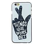The Palm of Your Hand Pattern  Hard Case for iPhone 6/6S
