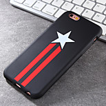 Super Popular Brands High-Grade Star TPU Soft Phone Case for iPhone 6/6S