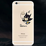 Masked Men People Pattern TPU Soft Phone Case for iPhone 6/6S