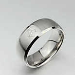Men and women`s Cute  Party  Work  Casual Titanium Steel Band Ring