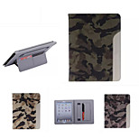 Ultrathin Camouflage Style Leather Case Fashion Cool With Belt Card Holder Case for ipad air /ipad 5(Assorted Color)