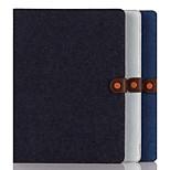 Caja de la carpeta 12,9 pulgadas patrón de denim de alta calidad para el ipad pro (colores surtidos)