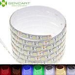5M 75W 300x5050SMD LED RGB/White/Green/Blue/Yellow/Red/Cold White/Warm White DC12V IP68 Waterproof LED Light Strip