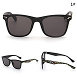 Men 's Mirrored  100% UV400 Browline Sunglasses