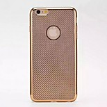 Ultra-Thin LvKong Heat Dissipation TPU Plating Pure Color Following for iPhone 6/6S 4.7