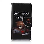 motosega orso dipinto cassa del telefono dell'unità di elaborazione per Sony Xperia Z5 compatto