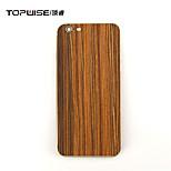 contraportada madera topwise® para el iphone 6 / 6s 4.7