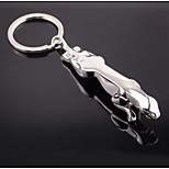 Jaguar Key Ring Chain Metal Classic Men's Automotive Creative