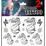 Temporary Tattoos Stickers Non Toxic Glitter Waterproof Multicolored Glitter 1 Package  Dragonfly