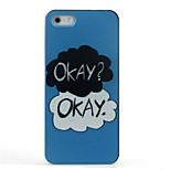 ok cas difficile de motif acceptable pour iPhone 5 / 5s