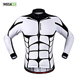 WOSAWE Men's New Cycling Jerseys Ciclismo Long Sleeve Bicycle MTB Bike Cycle Clothing