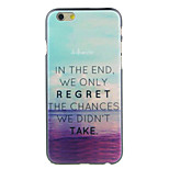 Sea Sunset Pattern  Hard Case for iPhone 6/6S