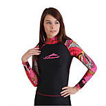 Women Long Sleeve Jellyfish Surfing Rash Guard Swimwear Clothing Tops