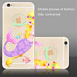 The New Creative Mermaid   Pattern  TPU Material Phone Case for iPhone 6/6S
