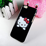 The Cat Pattern Full Color Hard Back Cover Case for iPhone6/6S