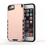 logrotate®2-en-1 hybride armure difficile affaire de protection pour iPhone 6s / 6 (couleurs assorties)