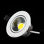 MORSEN®2Pcs Newest 3W  6W LED COB Chip Downlight Recessed LED Ceiling Light Spot Light Lamp White/ Warm White Led Lamp
