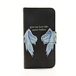 alas de la PU billetera de cuero caso de cuerpo completo para el tacto 5.6