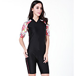 SBART Summer Anti-uv Short Sleeve Nylon Women Surfing Rashguard Swimming Suit Multi-colors