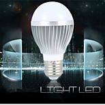 LERHOME Lâmpada de LED Smart Ativada Por Som / Decorativa E26/E27 5 W 480 LM 6000-7000 K Branco Frio 10 SMD 5730 1 pç AC 100-240 V G60