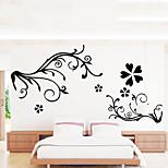 Natal / Floral / Feriado / Paisagem Wall Stickers Autocolantes de Aviões para Parede , pvc 60x90x0.1cm